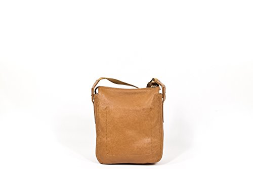 The Bridge Plume Soft Uomo Borsa a tracolla marrone chiaro
