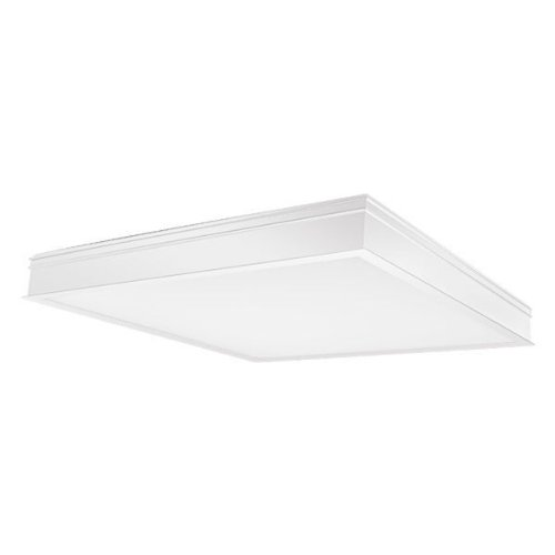 RAB PANEL2X2-34YN - 34 Watt - LED - 2x2 ft. Recessed Panel - 3500K - Halogen White - 120-277 Volt - Gloss White Finish