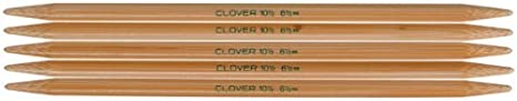 Size 8 CLOVER Takumi 7-Inch Double Point