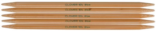 Clover Double Pointed Needles (Clover Takumi 7-Inch Double point, Size 8)