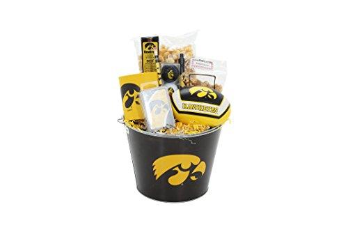 Iowa Hawkeye Fan Basket