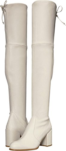 Stuart Weitzman Women's Tieland Over The Knee Boot, Snow, 6.5 Medium US by Stuart Weitzman