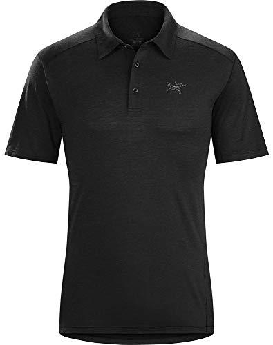 Arc'teryx Pelion Polo Men's (Black, X-Large)