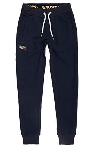 V2m Superdry Label Orange Blu Elite elite Mujer Pantalones Navy Jogger Para Deportivos PaqqAZxw