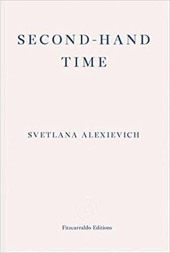 amazon second hand time svetlana alexievich bela shayevich
