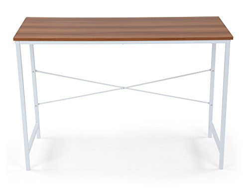Humble Crew LT398 Industrial Wood Console Table/Entryway/Writing Desk, White by Humble Crew