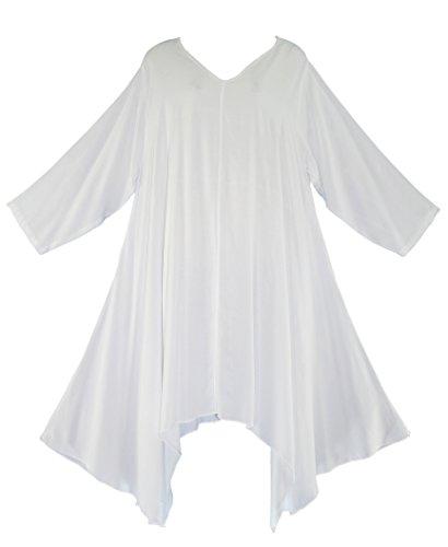 Beautybatik - Camisas - para mujer blanco