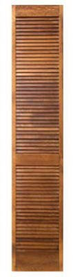 - MASONITE 09231352408012397100 24x80 Full Louvered Bi-Fold Door