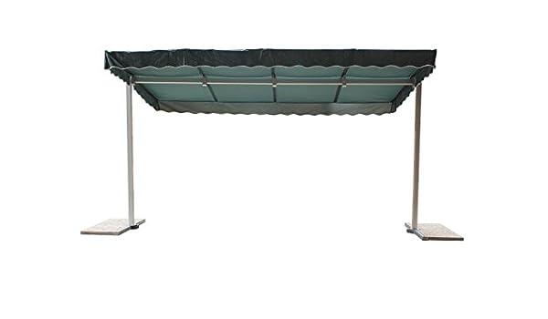 Mobile de toldo (tamaño: 220 cm H x 285 cm B x 225 cm t, color: verde: Amazon.es: Jardín