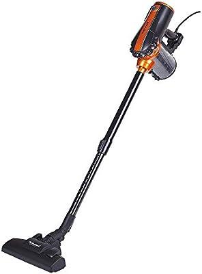 Techwood tas-655 aspirador escoba 2 en 1 Negro/Naranja 0,5 L 600 W: Amazon.es: Hogar