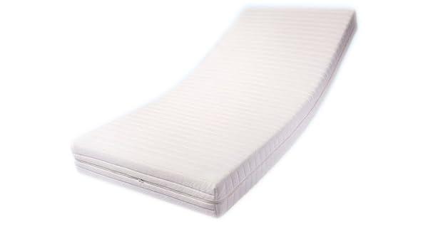 Dibapur PRO VISCO - Colchón de espuma fría (ortopédico, altura del núcleo: 8 cm de espuma fría y 8 cm de espuma viscoelástica, altura con funda: 16,5 cm, ...