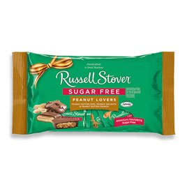 Sugar Free Peanut Lovers, 10 oz. Bag by Russell Stover