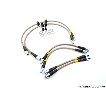 Stainless Steel Brake Line Set StopTech PLBE9XM3