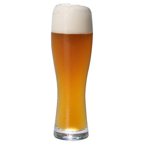 Purismo Beer Glasses Set of 4 by Villeroy & Boch - 25 Ounces (& Boch Villeroy Crystal Mug)