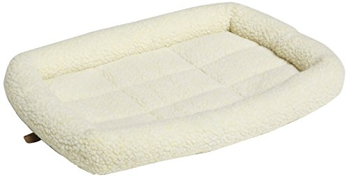 AmazonBasics-Padded-Pet-Bolster-Bed-22-x-15-inches