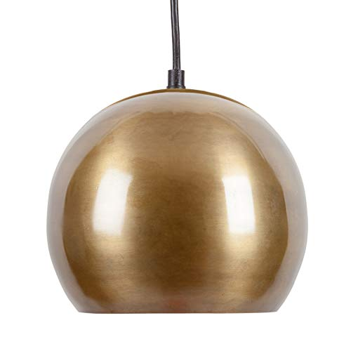 Light Society Halo Pendant in Antique Brass (LS-C224-BRS)