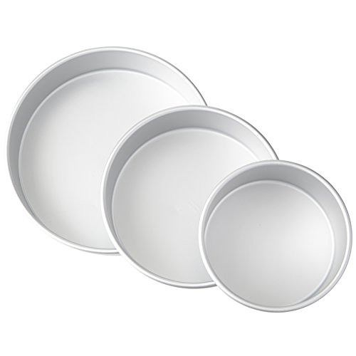 wilton round cake pan set - 9