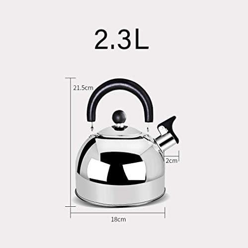 DBL 2.3L Bollitore Moda Salute Induzione Fornello Gas Generale Fischietto automatico Acciaio inossidabile 304 Acqua potabile sicura Bollitore