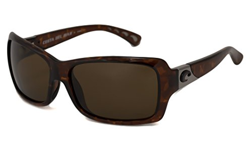 Costa Del Mar Sunglasses - Islamorada- Plastic / Frame: Tortoise Lens: Polarized Blue Mirror 580P - Costa Sunglasses Islamorada