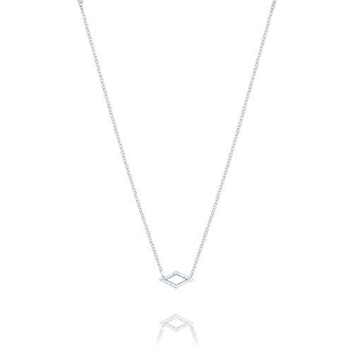 Tacori SN216 Ivy Lane Sterling Silver Diamond Chevron Pendant (0.09 cttw, H-I Color, I2-I3 Clarity), ()