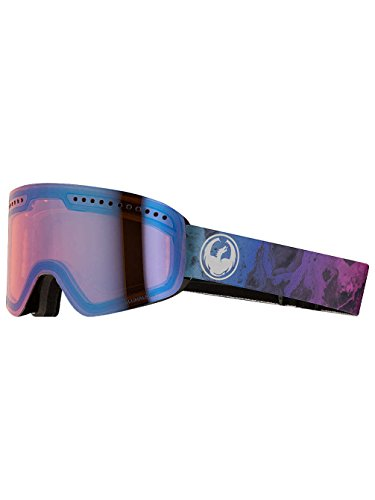 Dragon NFX Goggle Ink/LumaLens Blue Ion, One - Nfx Goggles Dragon