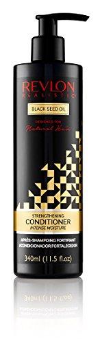 Revlon Realistic Black Seed Oil Strengthening Conditioner Intense Moisture 11.5 Oz (340ml) (11.5oz, Single)