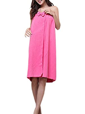 Cosynook Women's Microfiber Shower Wrap, Beach Wrap, Spa Wrap, Bath Wrap, , Pools, Gyms, Beaches, Locker Rooms, Bathroom