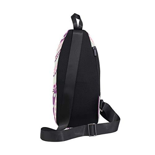 Backpack amp; For Bennigiry Men One Shoulder Strange Woman Bag Hair Black Women Hippie Bags Head With Sling Chest Crossbody qnqwT6Zxg