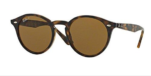 Ray-Ban RB2180 Highstreet Sunglasses (49 mm, Havana Frame NOT - Sunglasses Polarized Highstreet Ban Ray