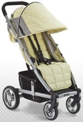 (Valco Baby Zee CITRINE Lightweight Single Stroller w/Adjustable Footrest)