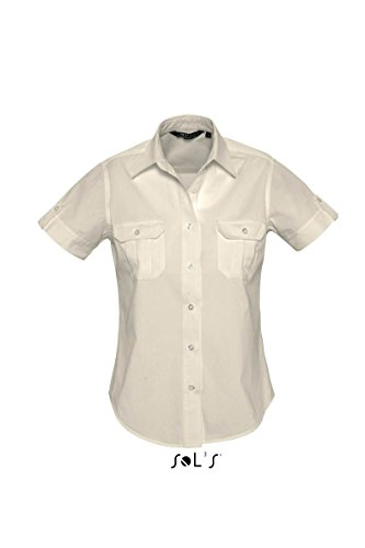 SOL´S Womens Short Sleeve Shirt Botswana, Größe:XS, Farbe:Rope