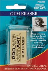 Bulk Buy: Pro-Art Gum Eraser (6-Pack) by Pro Art