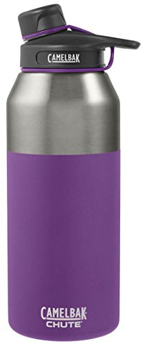 CamelBak Chute Vacuum Insulated Stainless Water Bottle, 40 oz, Fig