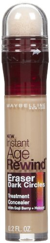 Maybelline New York instantanée Age Rewind Eraser Cernes Traitement Anti-cernes, Medium 30/130, 0,2 once fluide