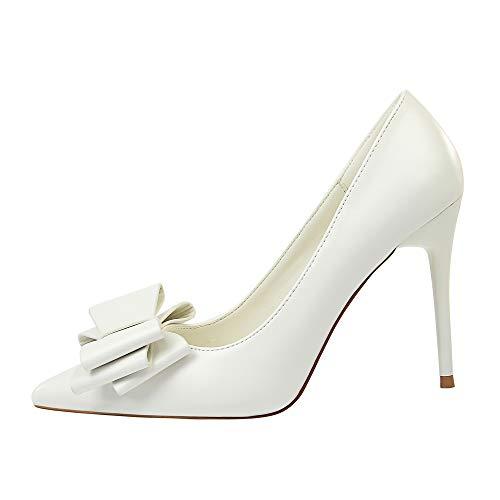 En Profunda Solo Aguja Mujeres Tacón Tacones Zapatos Puro White Poco Altos De color Medio Mujer Punta Color Liangxie Candy Moda Puntiaguda Arco Sexy Deslizamiento Las Boca wqUqStIz