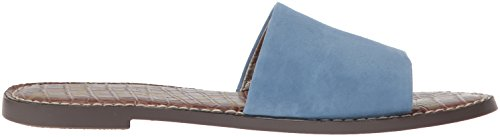 Sam Edelman Women's Gio Slide Sandal Blue (Denim Blue Suede 400) d69jWDnWdA