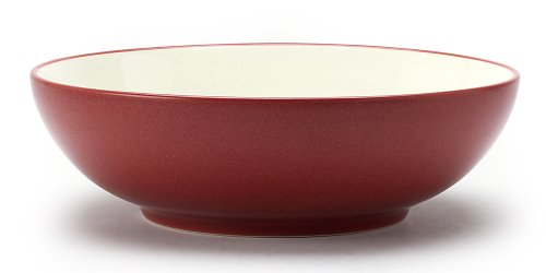 (Noritake Colorwave Round Vegetable Bowl, Raspberry)