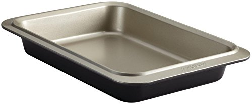 Non Cookie Anolon Sheet Stick - Anolon Allure Nonstick Bakeware 9-Inch x 13-Inch Rectangular Cake Pan, Pewter/Onyx