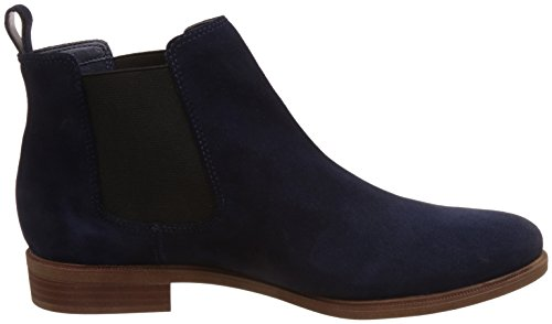 Clarks Chelsea navy Taylor Para Botas Suede Azul Mujer Shine TrFTxqWtwa