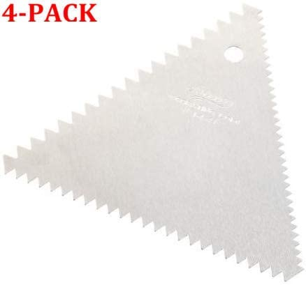 Decorating Comb 3 Sided 4 Sided 5 Sided Decorating Comb /& Icing Smoother 3 Pc Set