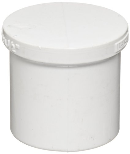 (Spears 449 Series PVC Pipe Fitting, Plug, Schedule 40, 1/2