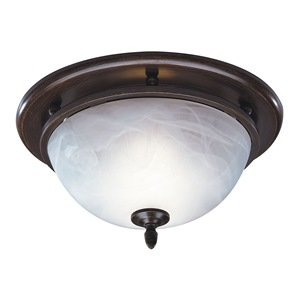 Broan 754RB Decorative Ventilation Fan and Light,70 CFM 3.5 Sones, Oil Rubbed Bronze by Broan