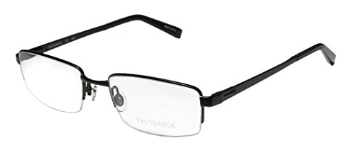trussardi-12752-mens-rx-ready-red-carpet-style-designer-half-rim-spring-hinges-eyeglasses-eye-glasse