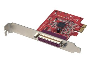 LINDY 1 Port Parallel Card PCIe (51185)
