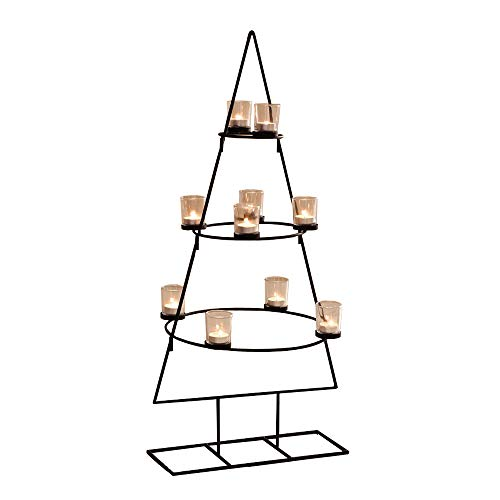 PierSurplus 3 ft. (36 in.) Christmas Tree Tealight Candle Holder Product SKU: CL229602