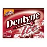 Dentyne Ice Cherry Flavored Chewing Gum Net Wt 11.2g. (pack of 3)