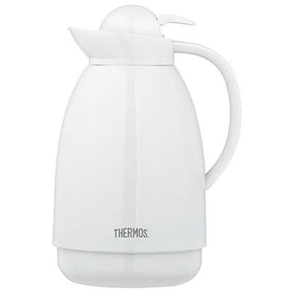 thermos 710tri4 34 oz white glass carafe - Glass Thermos