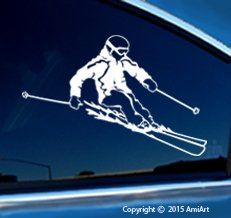 - SKI Decal Sticker - Facing Right - X-Large Size 8.6