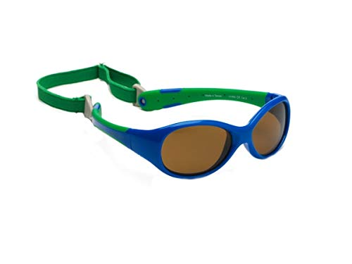 66a7703d31 Gafas de sol para koolsun Baby Flex Joven 0 - 3 AñOS, Royal & Green |100%  protección UV | con desmontable Diadema | Optical Clas 1, cat. 3:  Amazon.es: Bebé