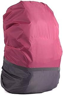 HATCHMATIC 20L-70L réfléchissant la lumière imperméable Rain Cover antipoussière Sac à Dos Ultra-léger Portable épaule Protection Outils randonnée en Plein air: Rose-G, 30-40L